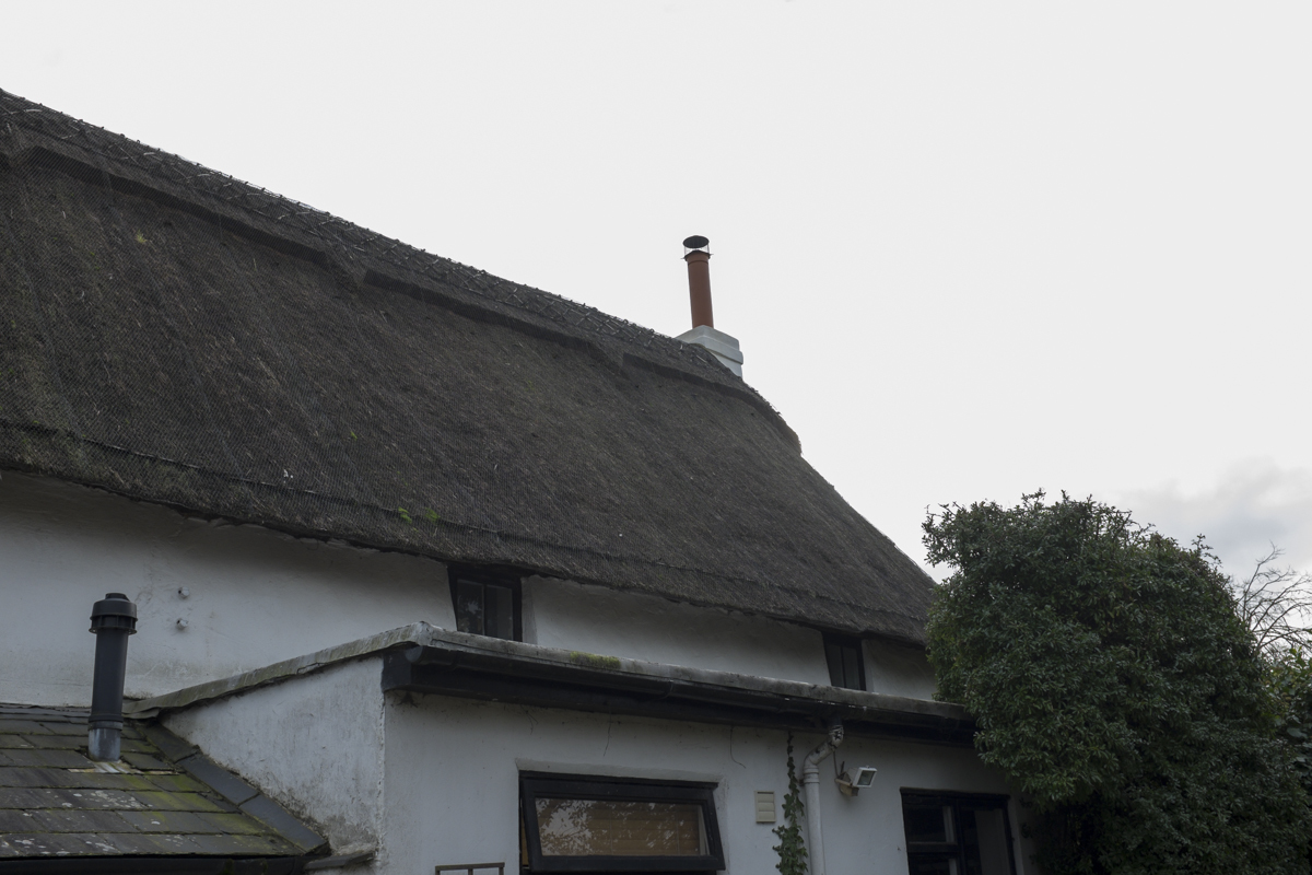 Thatched roofs are killin it in the South of England.