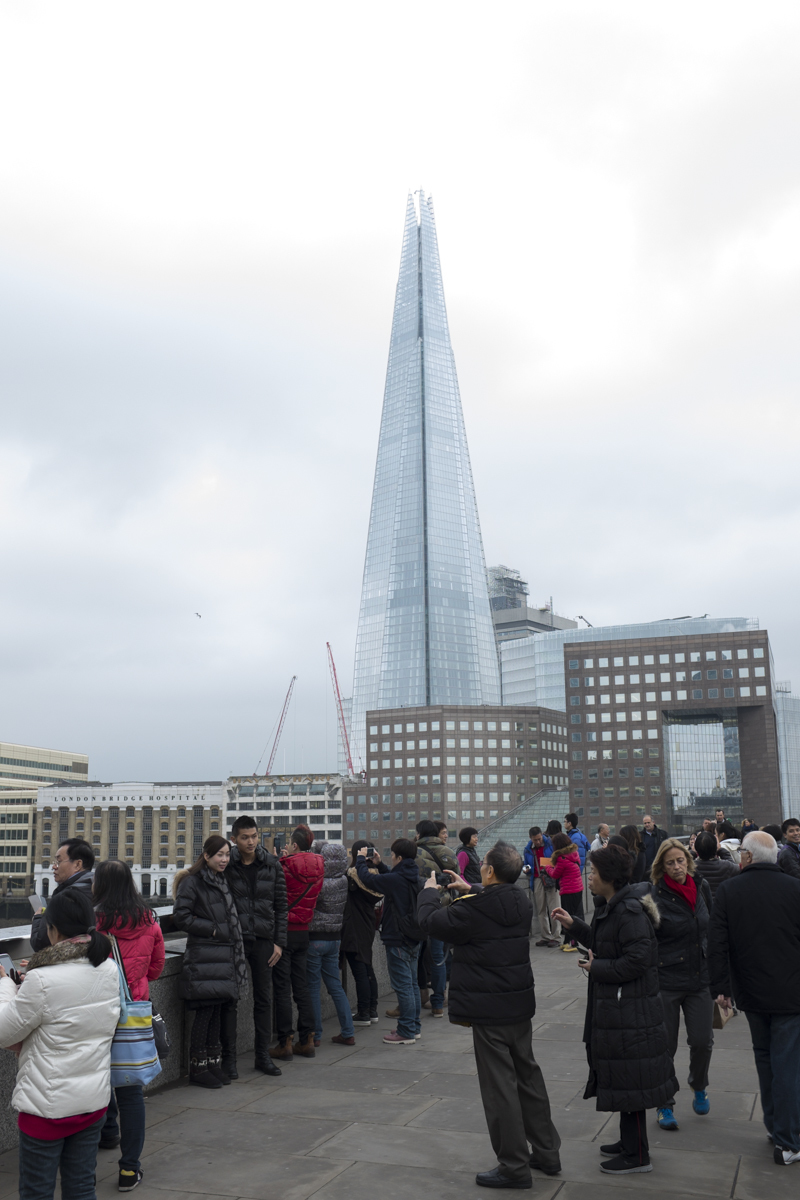A better view of the Shard during the daytime, this is taken from the London bridge.