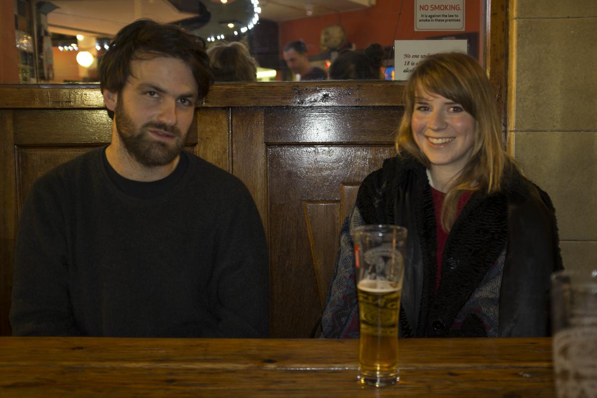 Luke and Lindsay