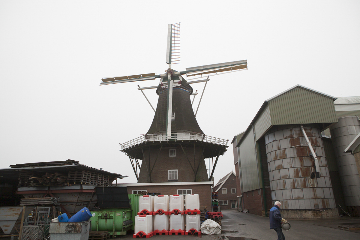 This was actually a windmill in a different location.