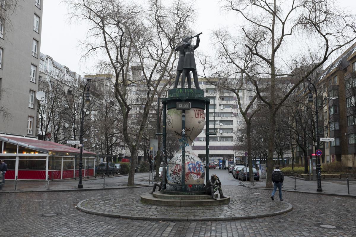 Some weird statue in Kreuzberg