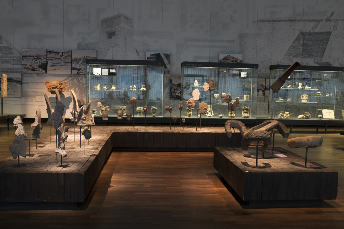 Some of the 'collected' works house in the museum. Sort of a questionable area as well - where these obejects were taken from and their provenance is in questioned for me.