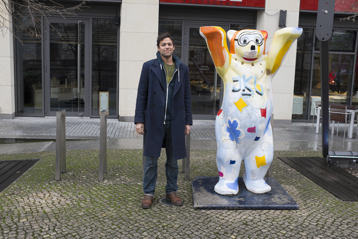 There's also this dude - the Berliner Bear, theyve got loads of them all around the city painted in different fashions.