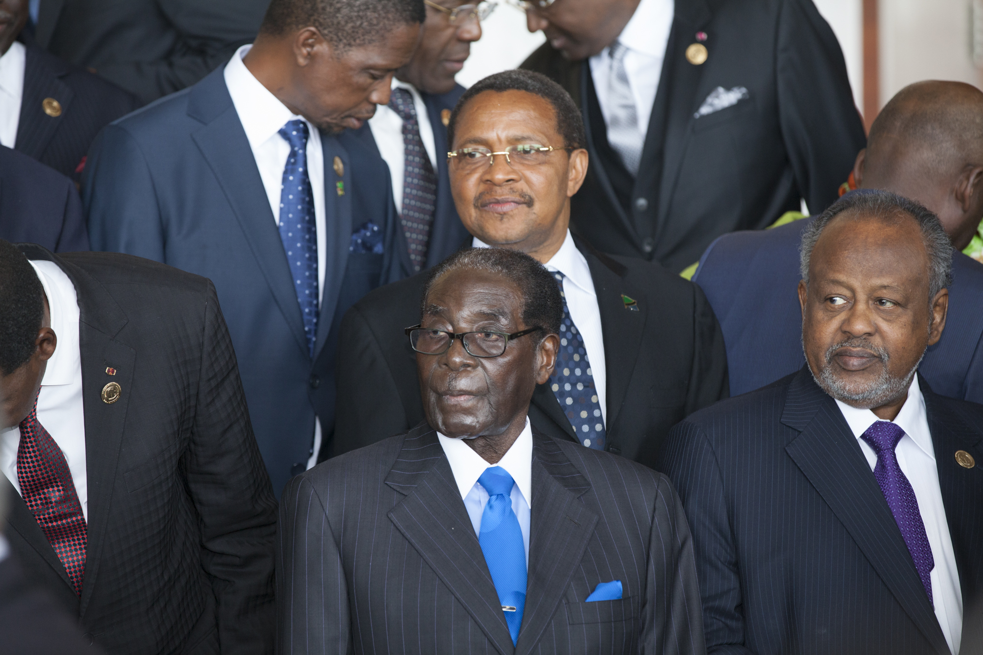 Robert Mugabe, President of Zimbabwe, is pictured at the opening ceremony of the 24th Heads of State meeting at the African Union in Addis Ababa 30 Jan 2015.