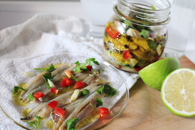 How to make marinated anchovies