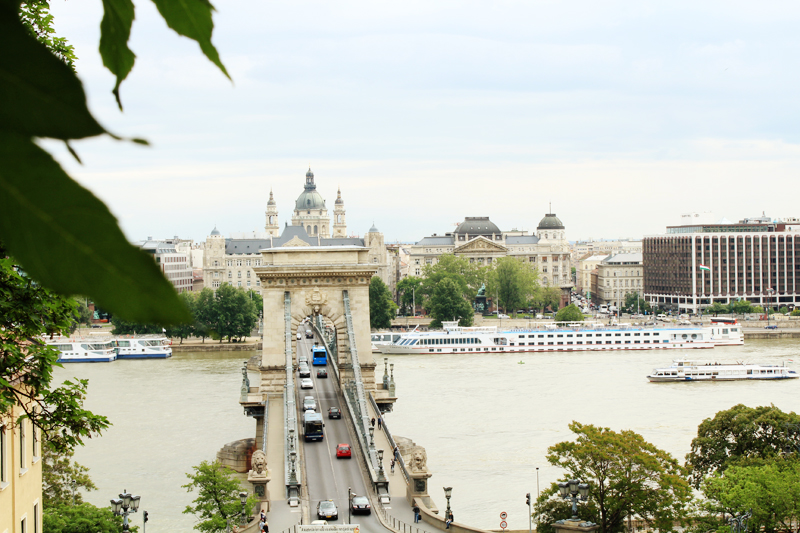 Pest's view from Buda's side