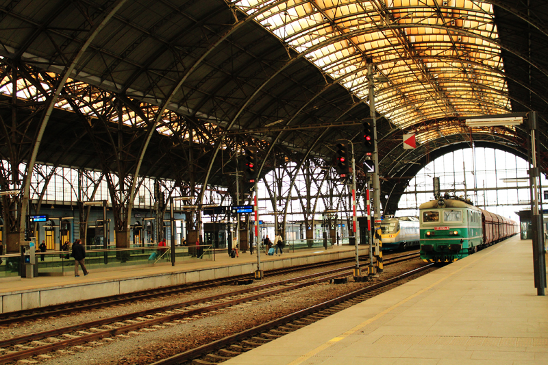 train station Prague