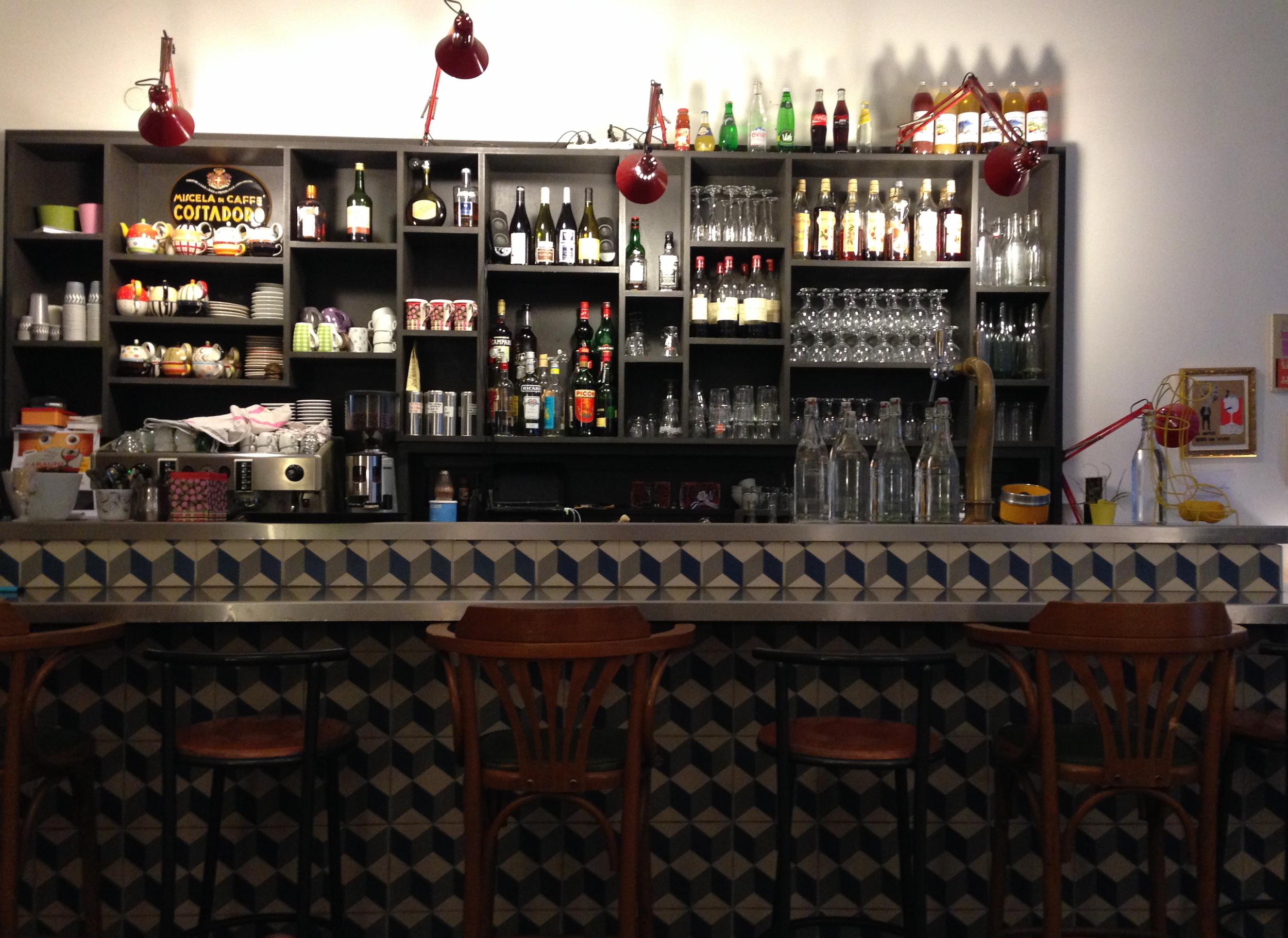 Inside Cafe Cousu