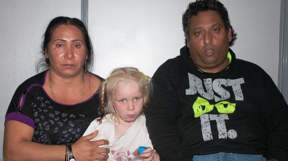 Maria, the 'Blonde Angel' Living with Roma Parents