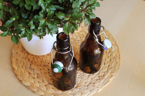 Πως να φτιάξετε κερωμένα μπουκάλια -Make Candle bottles  (2)