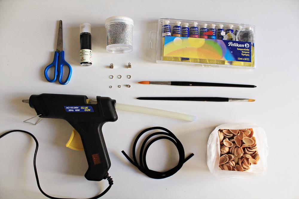 Πως να φτιάξετε ένα ιδιαίτερο κολιέ από κελύφη φυστικιών 2