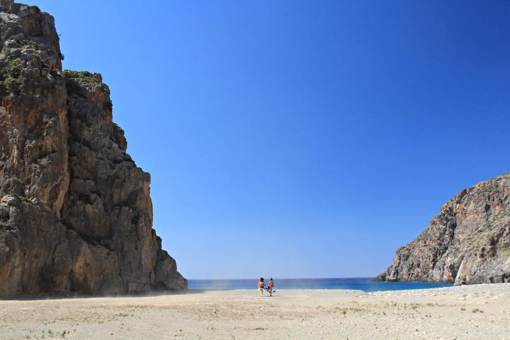 Camping at Agiofaraggo (South Crete, Greece) 4