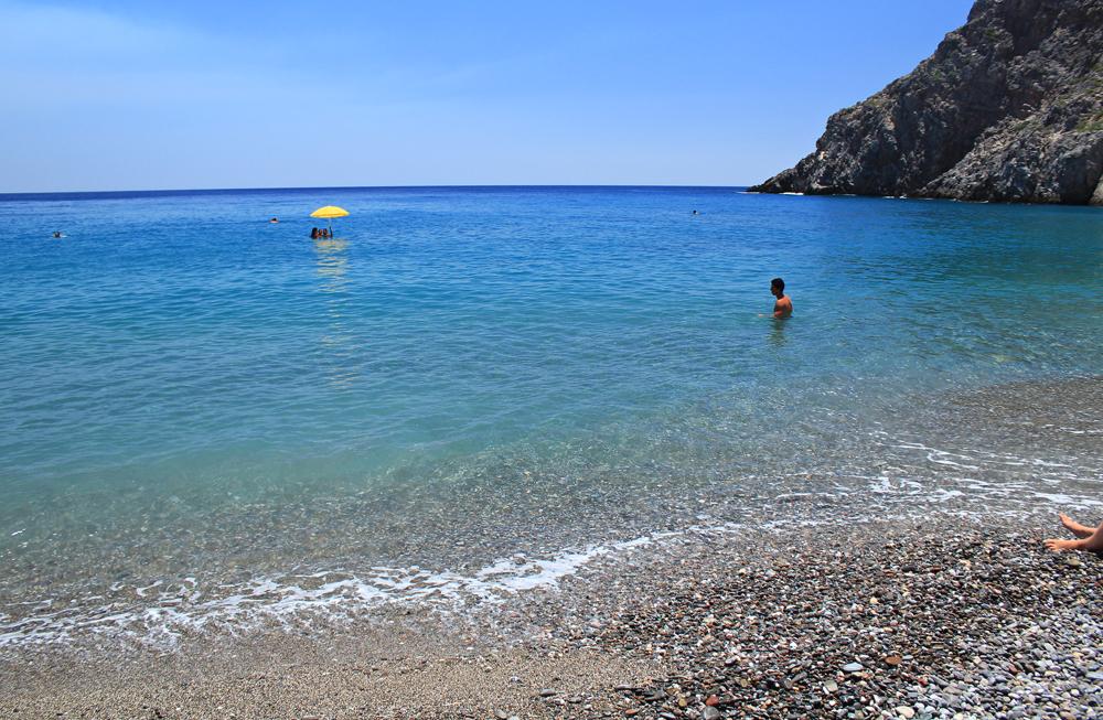 Camping at Agiofaraggo (South Crete, Greece) 9