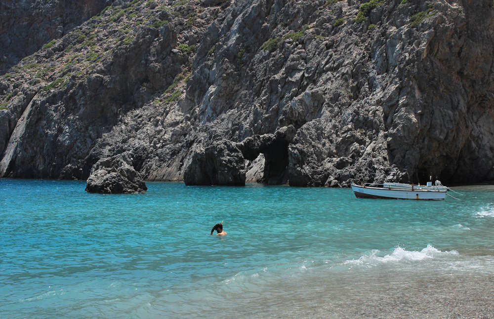 Camping at Agiofaraggo (South Crete, Greece) 5