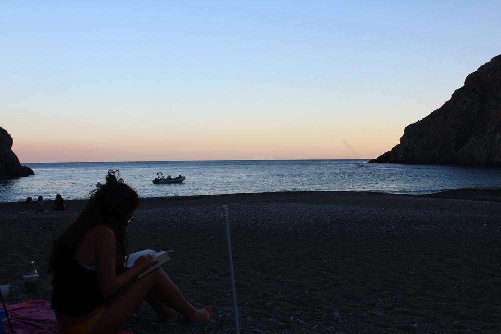 Camping at Agiofaraggo (South Crete, Greece) 14