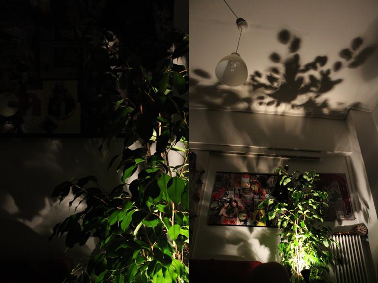 Δημιουργείστε το εφέ σκιών φυλλωμάτων στον τοίχο σας 3