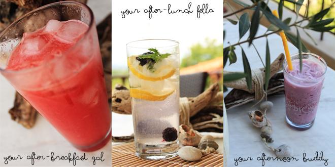 δροσιστικά ποτα για το καλοκαίρι