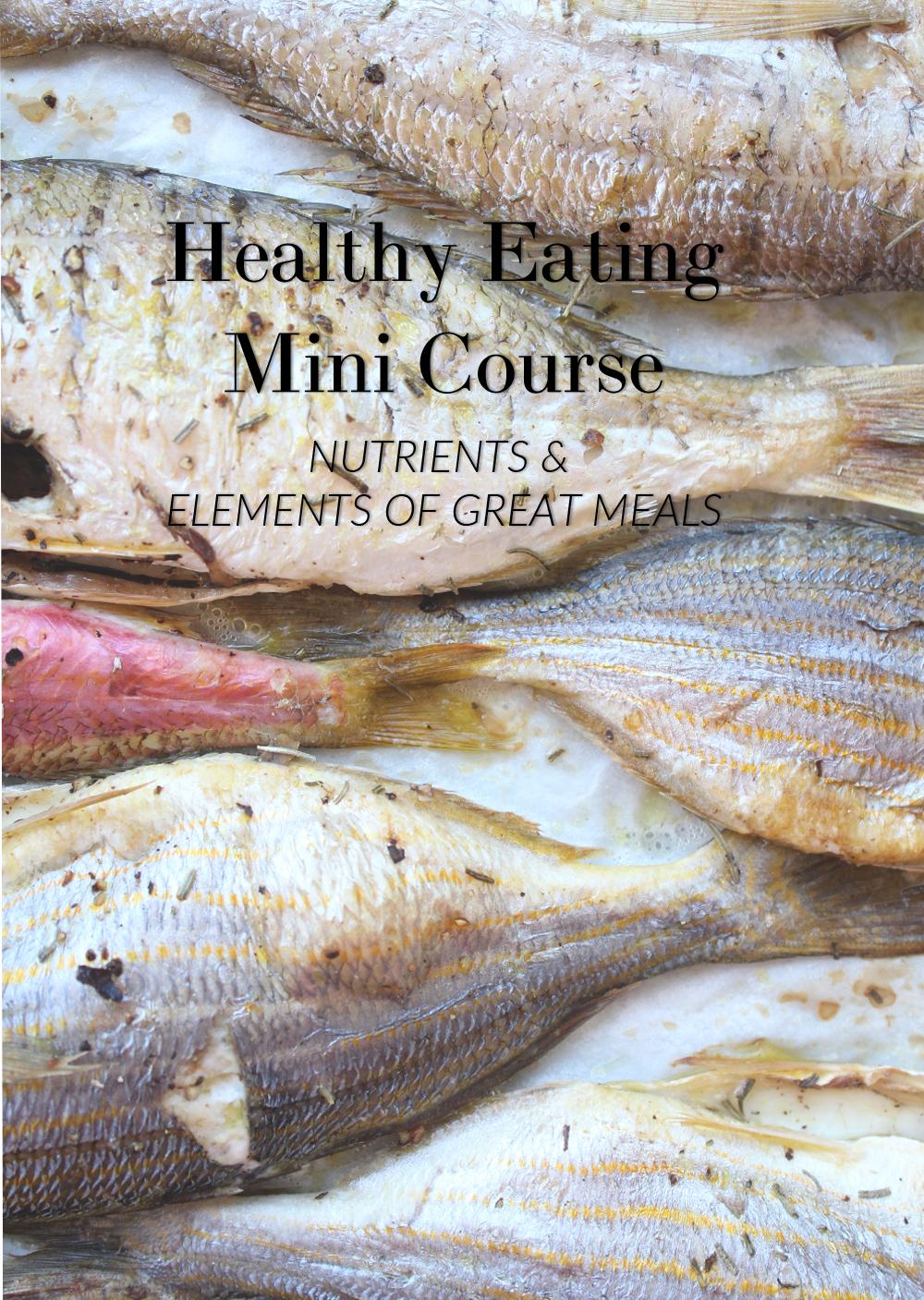 Μίνι μάθημα υγιεινής διατροφής: μέρος 02, τα θρεπτικά συστατικά ενός τέλειου γεύματος | από το In Whirl of Inspiration