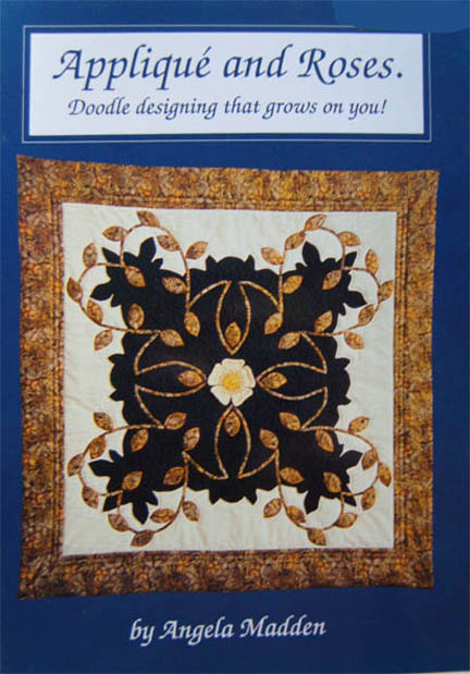 Appliqué and Roses book by Angela Madden