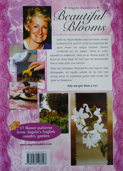 Beautiful blooms.. Floral applique quilts