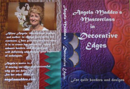 Decorative Edges Masterclass DVD by Angela Madden