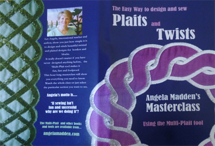 Celtic plaits and Twists DVD by Angela Madden