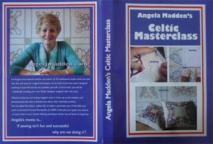 Celtic Appliqué design masterclass DVD by Angela Madden