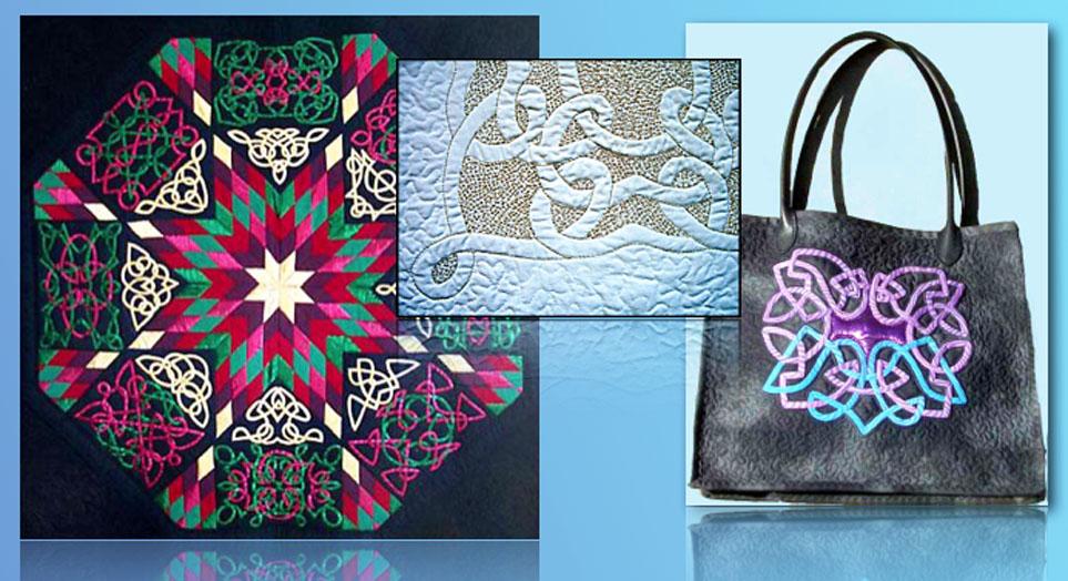 Celtic quilts, Celtic patchwork, Celtic design