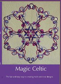 Celtic design quilts.  Magic Celtic DVD