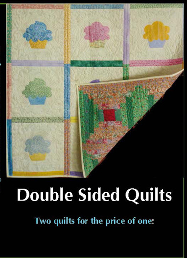 Double sided quilts