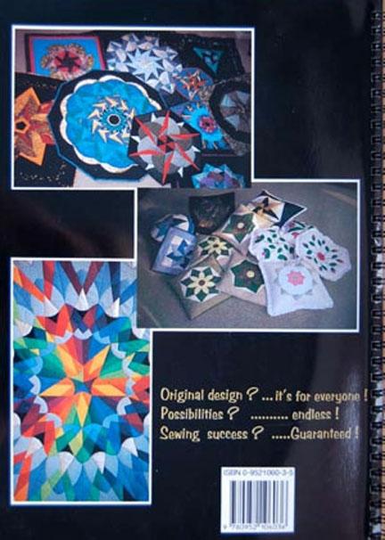 Geometric star,kaleidascope, compass quilts.