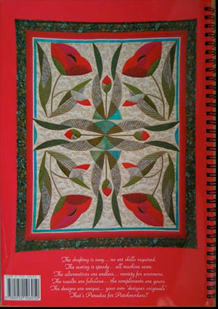 Floral Patchwork quilts.