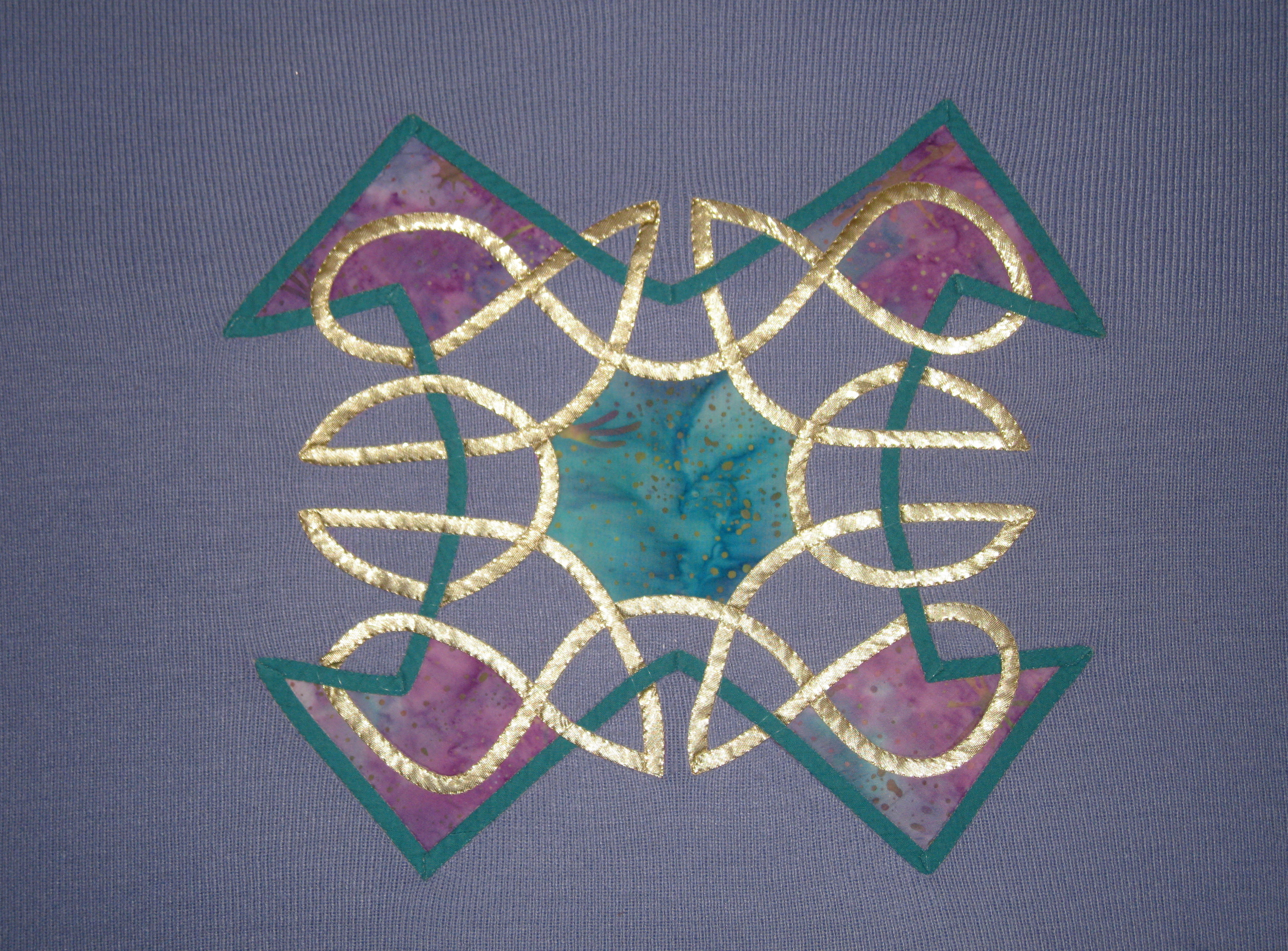 Sew Easy Celtic- book -quilt design and applique by Angela madden