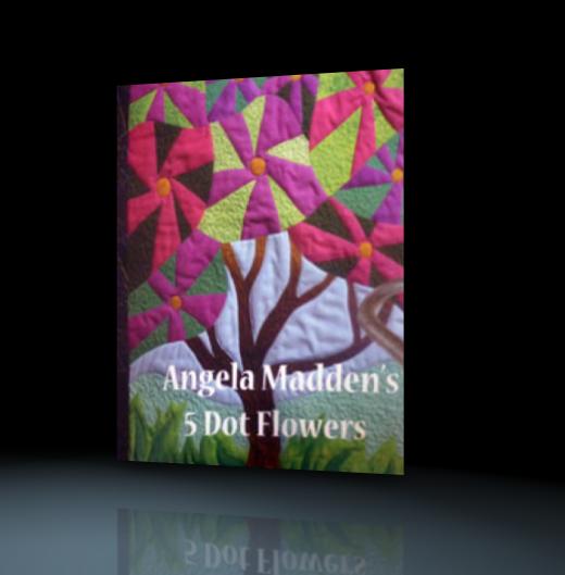 5 Dot Flower quilt design class - download
