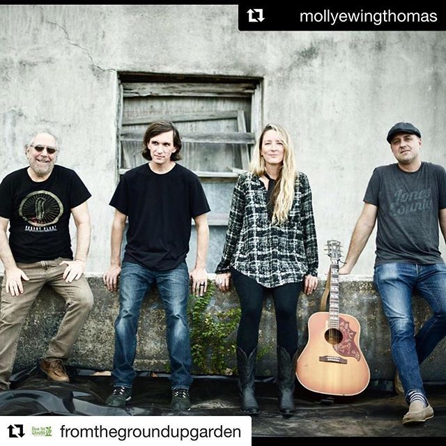 Happening at 6:30pm in Pensacola Saturday Night! Go to ➡️ @fromthegroundupgarden for ticket info! @mollyewingthomas @studio_h2o_official @johnkeulermusic @mcephotography #Repost @mollyewingthomas with @get_repost ・・・ #Repost @fromthegroundupgarden (@get_repost) ・・・ Molly Thomas and the Rare Birds are coming to the garden 4.21.2018 at 6:30pm - right after the slow ride! Be sure to get your tickets. Check the link in our bio. @mollyewingthomas #livemusic #pensacola #mollythomasandtherarebirds