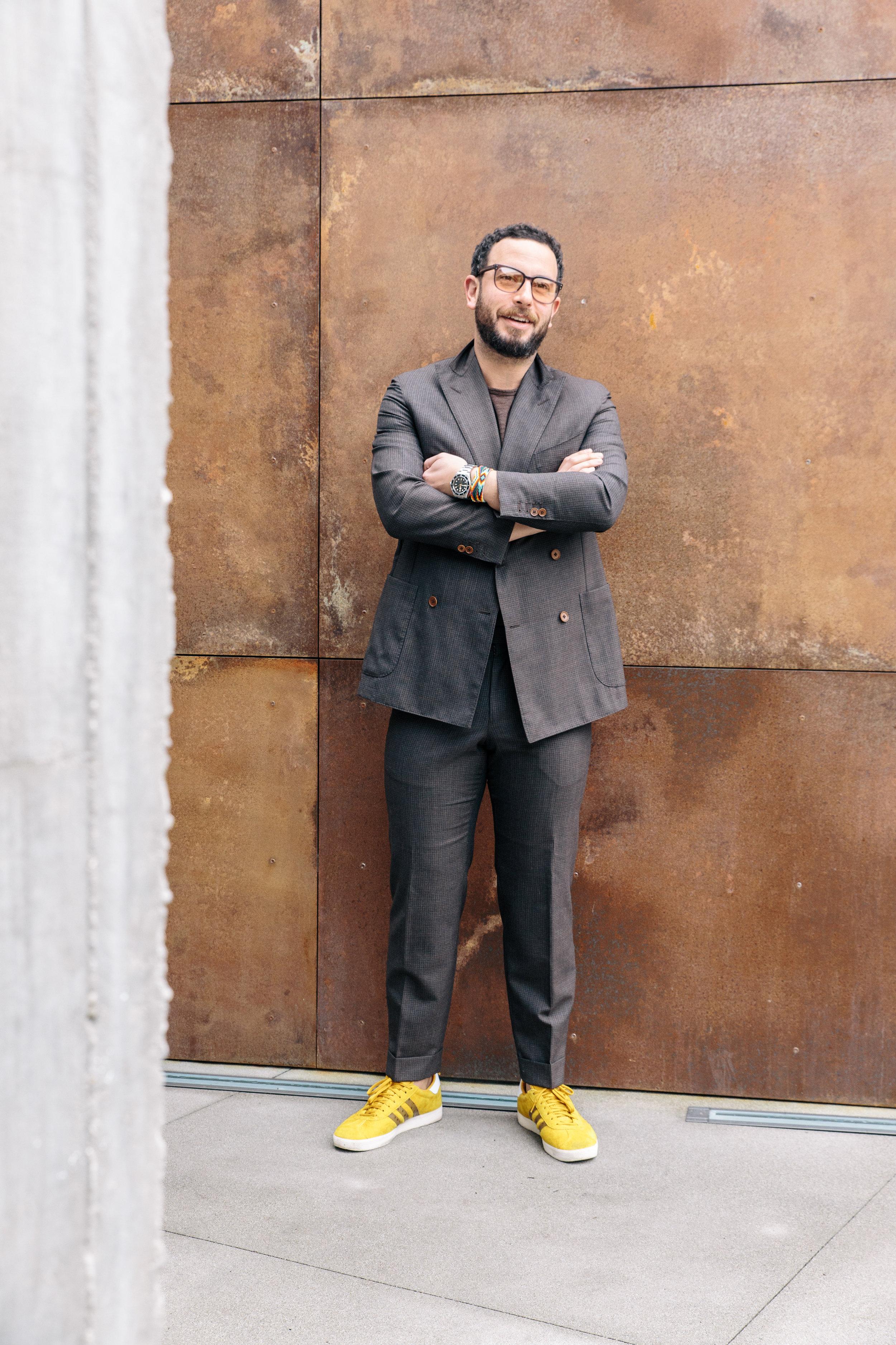 Josh Peskowitz, Menswear Consultant