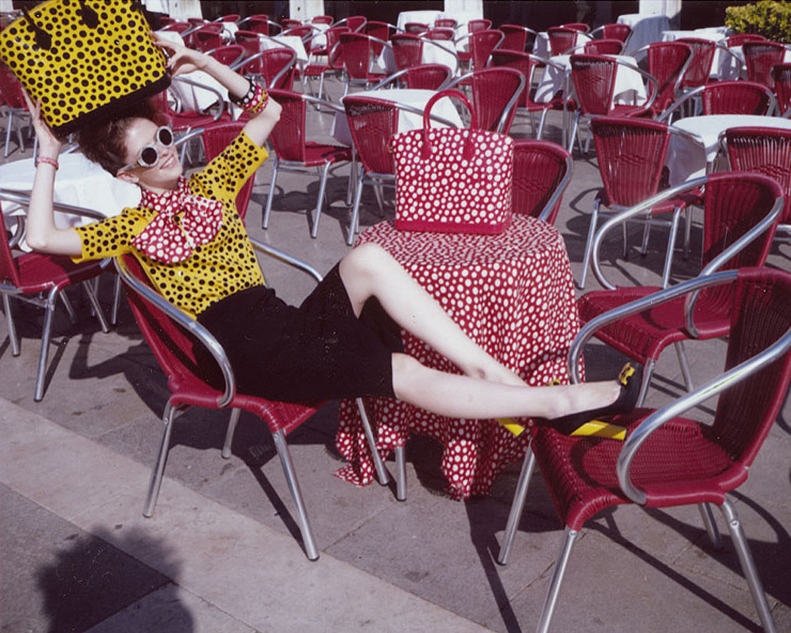 Marie Claire Czech & Louis Vuitton Special Project:  Yayoi Kusama