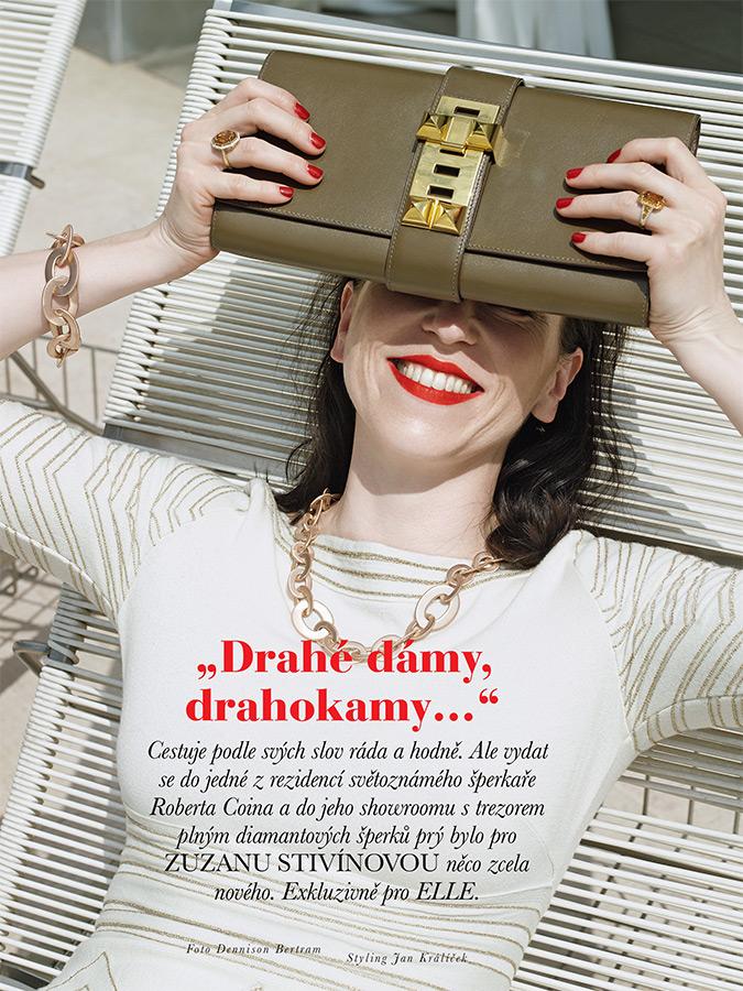 Elle Czech - Expensive Women, expensive jewels...