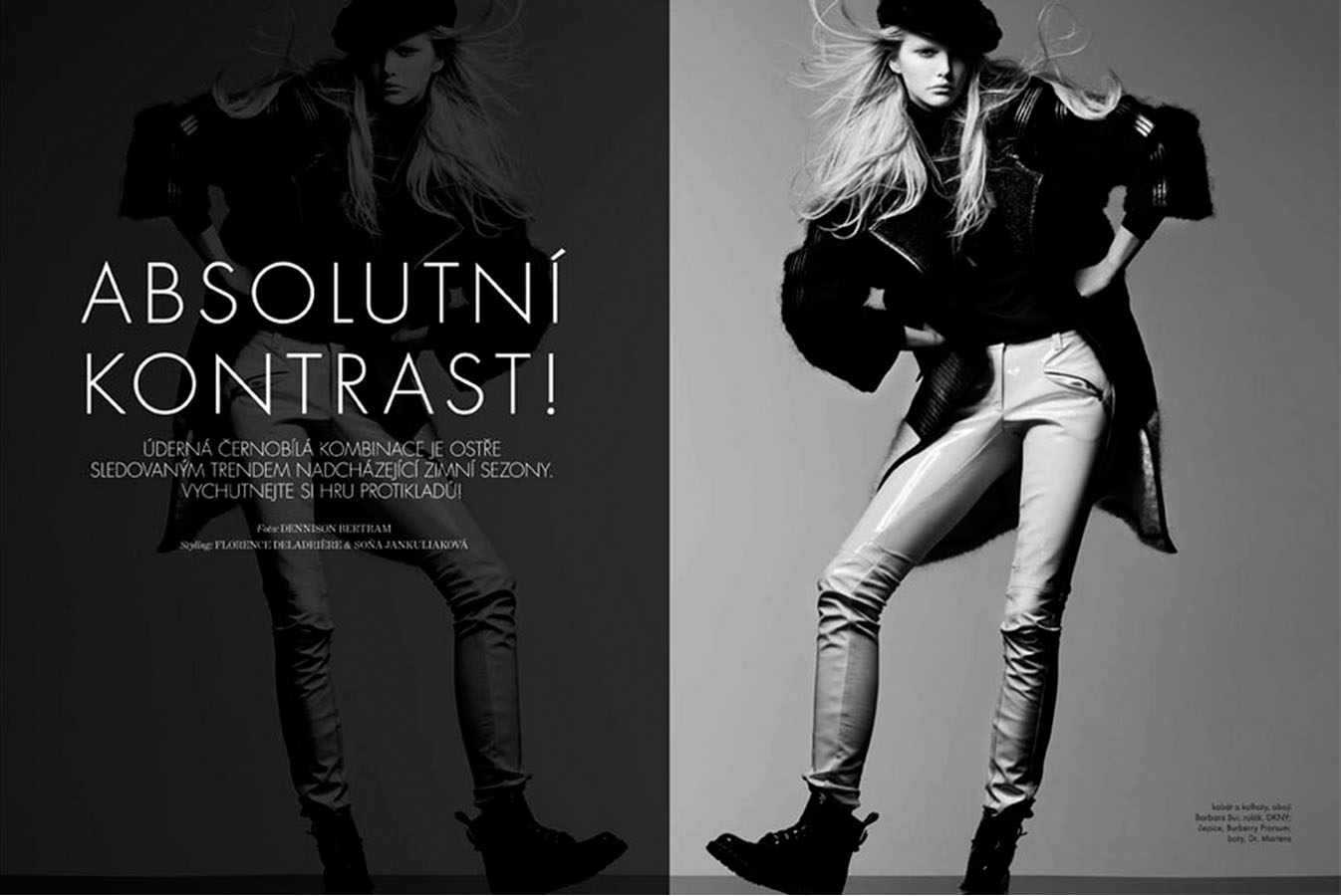 Marie Claire Czech - Absolute Contrast