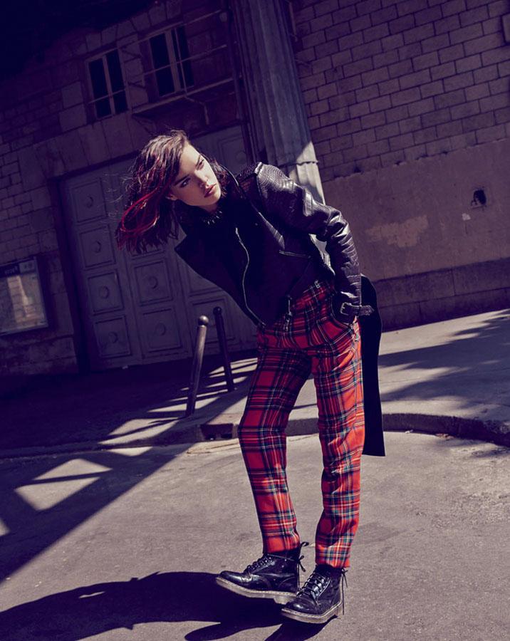 Marie Claire Romania - Lady Punk!