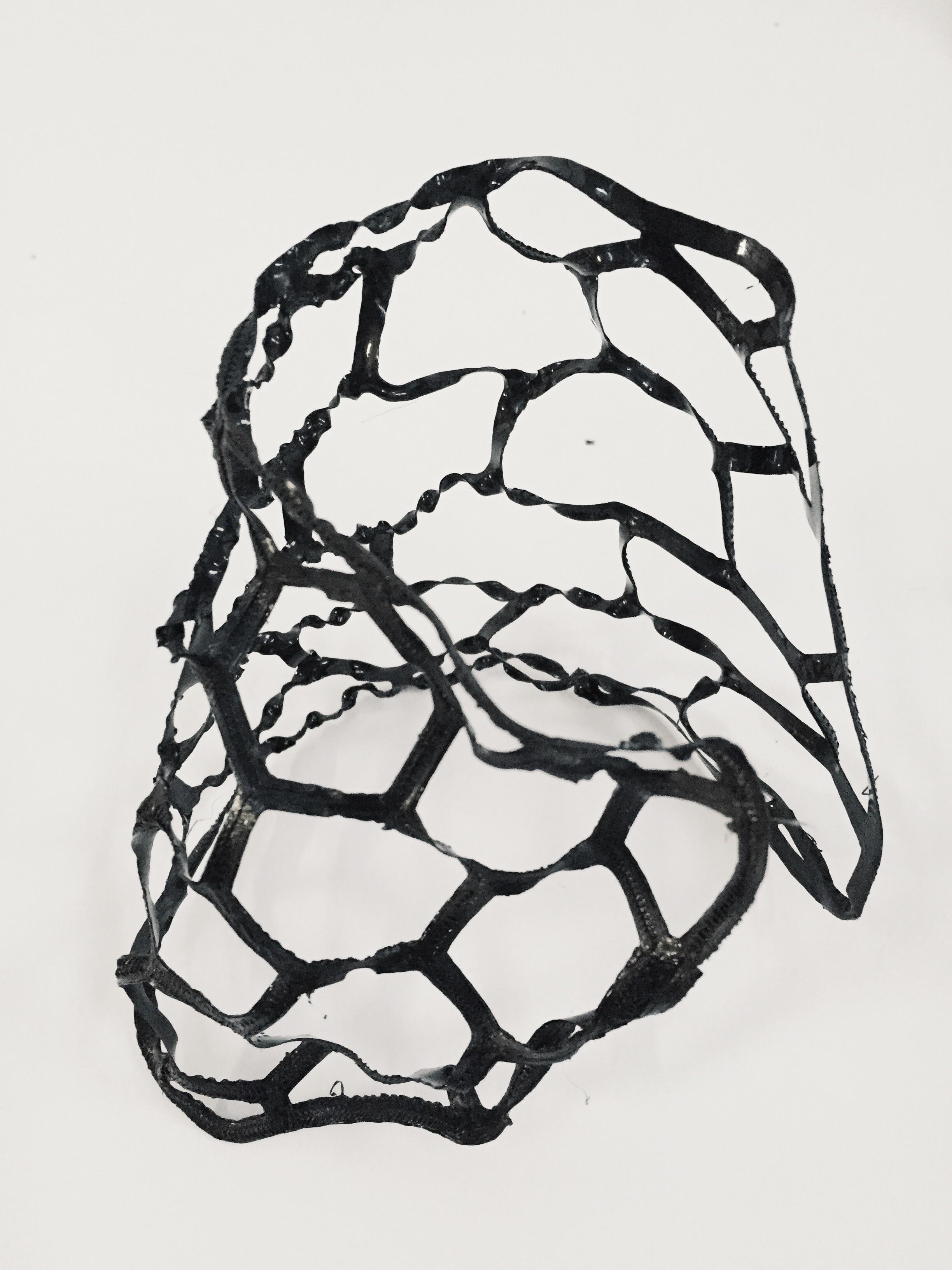 Post print deformation sculpture