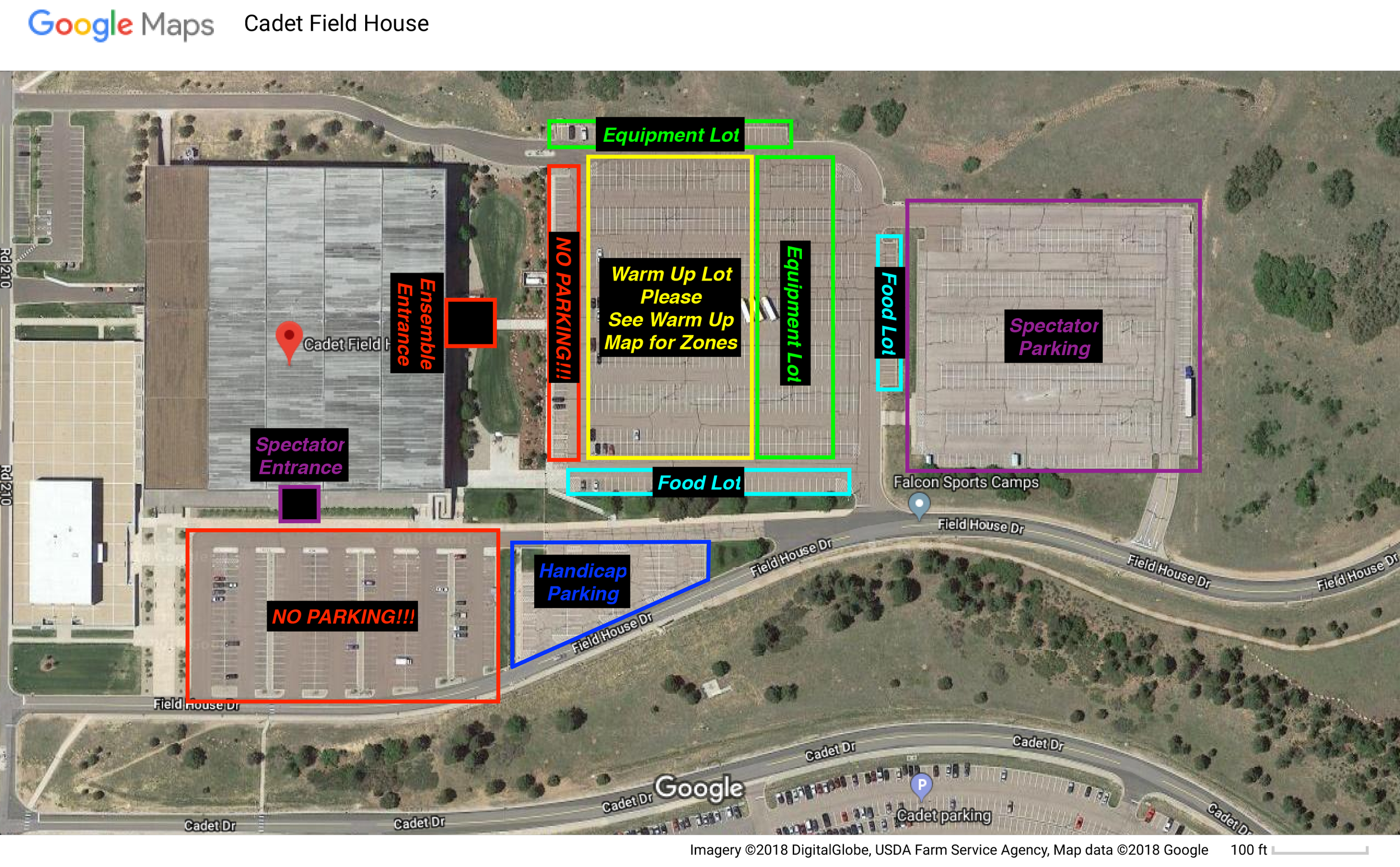 Parking Lot Map @ Cadet Field House - USAFA.png