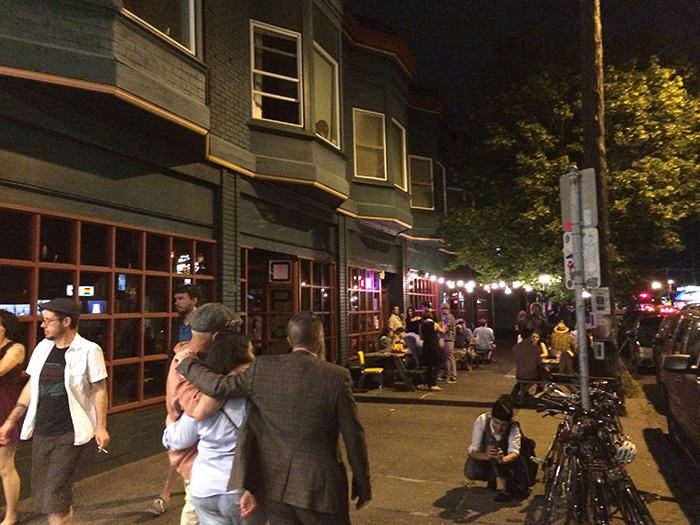 Nightlife and the Bar Scene Along Foster
