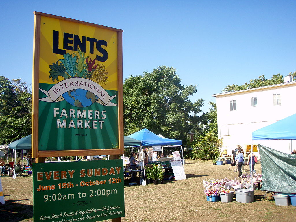 Get a Taste of Lents at the Local Farmers Market