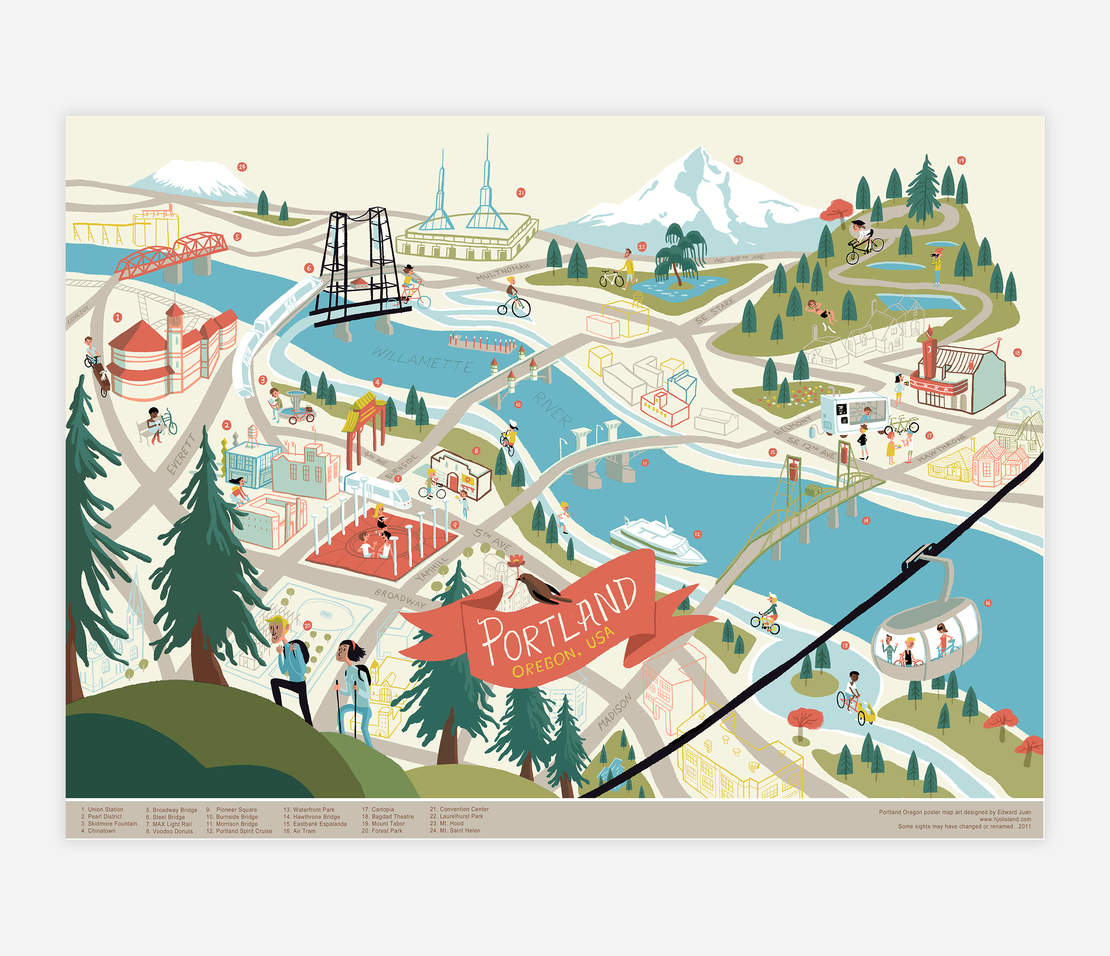 Map designed by Edward Juan. Available on  Buy Olympia