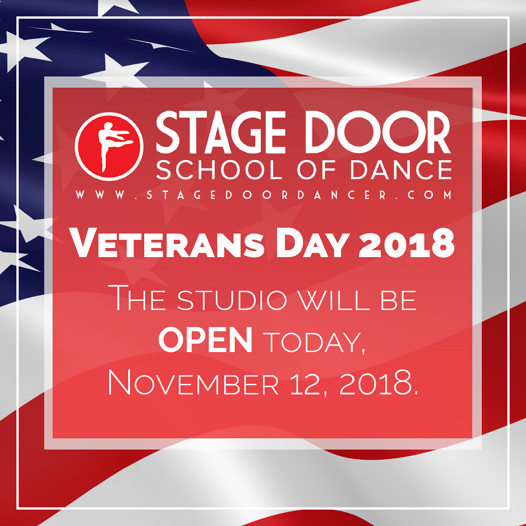 Stage Door -Veterans Day - Studio Open.png