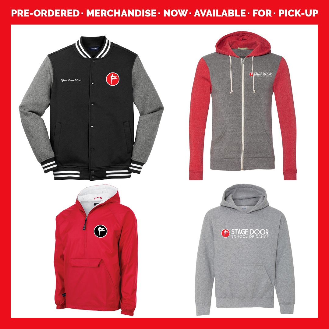 Stage Door School of Dance - Pre-Ordered Merch - Now Available for Pick up.png