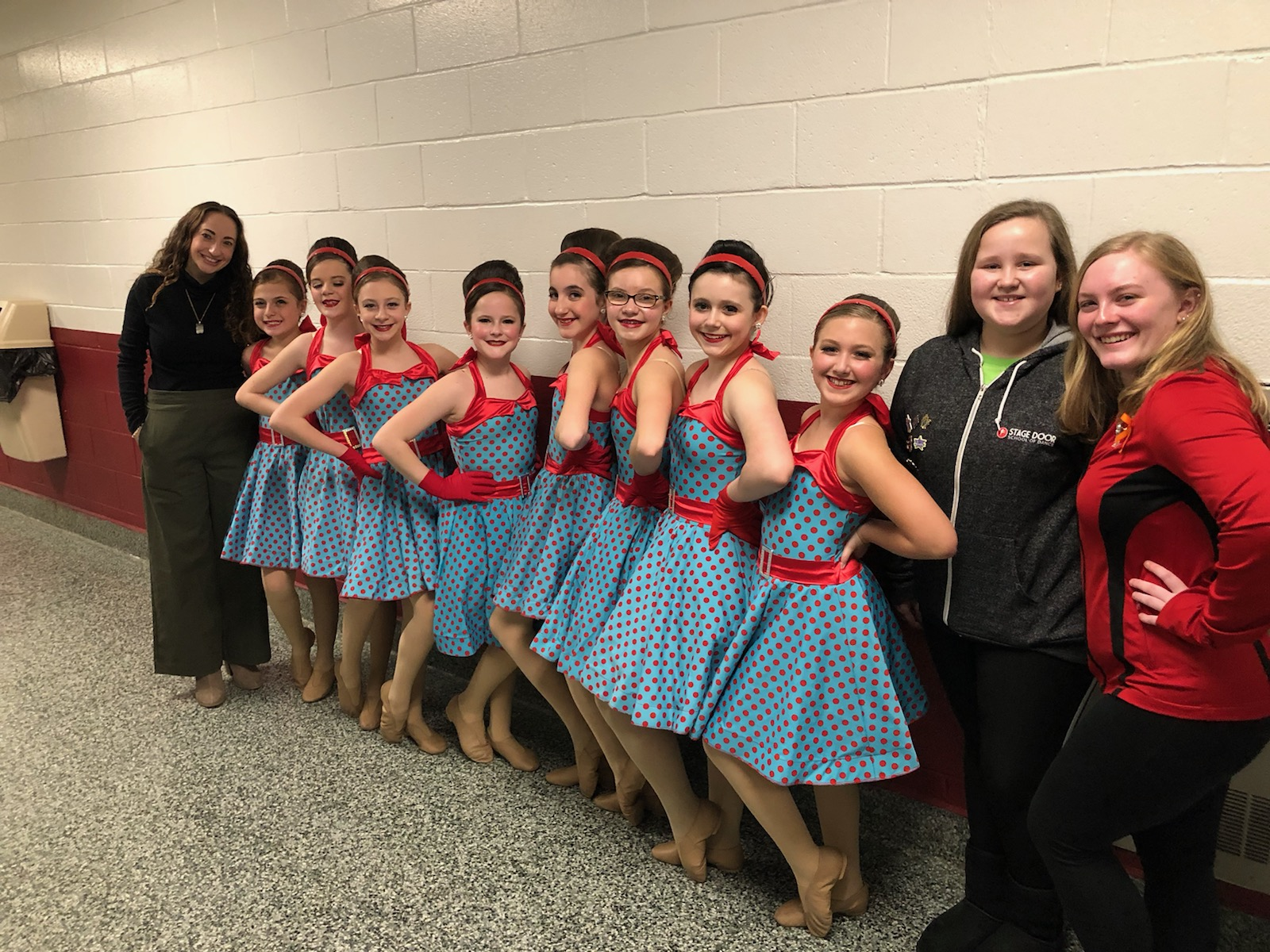 "SD Prep II Dancers - ""NEW GIRL IN TOWN"" with choreography by Miss Jessica Heins."