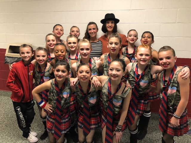 "YDC Jazz Company - ""LAST OF THE AMERICAN GIRL"" with choreography by Miss Mary Giattino."