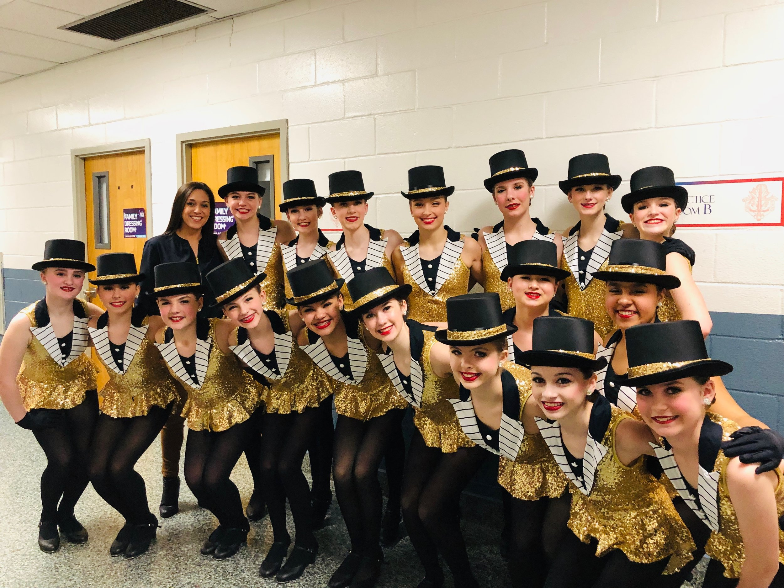 "Jr. D Tap Company - ""I LOVE A PIANO"" with choreography by Miss Stephanie Vertichio. (WINNER of 1st place over all and highest scoring routine 12&under!)"